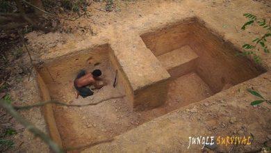 Κατασκευή μυστικού υπόγειου καταφυγίου με «αρχαίες» δεξιότητες