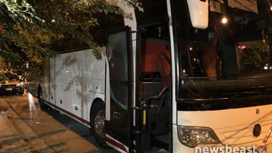 Photo of Οδηγός ΙΧ πυροβόλησε λεωφορείο έξω από κεντρικό ξενοδοχείο της Αθήνας